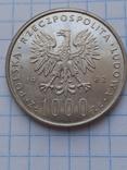 1000 злотых 1982 год серебро, фото №6