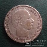 25 эре 1905  Дания серебро   (,10.1.15)~, фото №3