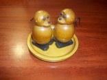Оригинальная деревянная солонка - перечница СССР, фото №2