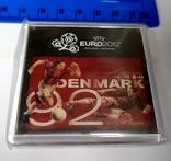 Магнит сувенирный евро 2012