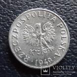 1  грош 1949  Польша   (,F.6.33)~, фото №3
