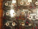 Аудиокассеты импортные б.у 25 шт.самоучитель английского языка, фото №6