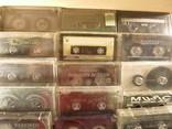 Аудиокассеты импортные б.у разные в лоте 44 штуки, фото №4
