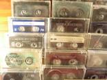 Аудиокассеты импортные б.у разные в лоте 44 штуки, фото №6