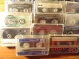 Аудиокассеты импортные б.у разные в лоте 44 штуки, фото №9