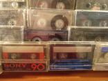 Аудиокассеты импортные б.у разные в лоте 44 штуки, фото №10