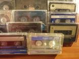 Аудиокассеты импортные б.у разные в лоте 44 штуки, фото №11