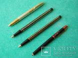 Четыре шариковые ручки Индия 1969г., фото №2