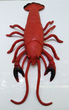 Рак антистресс - резиновая игрушка, длина 25 см, фото №6