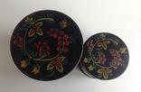 Коробки для сыпучих продуктов. СССР.  Металл, жесть., фото №3