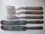 Столовый нож артель имени Штанге СССР 5 шт, фото №2