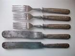 Столовый нож артель имени Штанге СССР 5 шт, фото №3