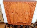 Икона 3D пчеловодов cв. Зосима и Савватий, фото №4