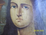 Свята Варвара /картина 18 ст/темпера/домоткане полотно. Подiлля, фото №4