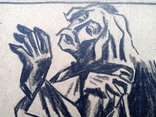 Малюнок Івана Остафійчука 1965 р. 24×18 см., фото №5
