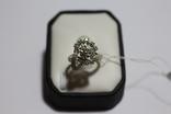 Золотое кольцо с бриллиантами в ретро стиле Арт-Деко, фото №9