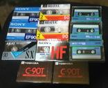 Аудиокассеты разные в упаковке и запайке 13 шт фото 2