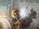 Икона Святой великомученик Георгий Победоносец 39х31 см, фото №4