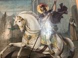 Икона Святой великомученик Георгий Победоносец 39х31 см, фото №5