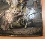 Икона Святой великомученик Георгий Победоносец 39х31 см, фото №6