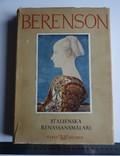 BERENSON Італійські художники епохи Відродження шведська мова, фото №2
