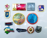Знаки - значки олимпиада + разные СССР, 10 штук., фото №2