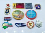 Знаки - значки олимпиада + разные СССР, 10 штук., фото №4