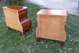 Дві приліжкові тумбочки у голадському стилі, фото №7