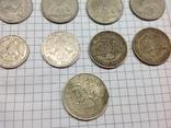 Монеты России разные, 5 рублей 1991г, 100 рублей 12шт, фото №4