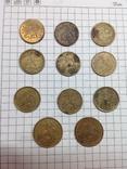 Монеты России 10 копеек и 50 копеек 11шт, фото №3