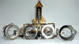 Чернильница. Письменный прибор с термометром. Европа ХІХ век., фото №5