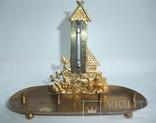 Чернильница. Письменный прибор с термометром. Европа ХІХ век., фото №9