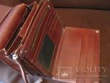 Мужская барсетка из натуральной кожи - PETEK., фото №6