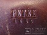 Мужская барсетка из натуральной кожи - PETEK., фото №9