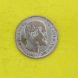 Данія 4 скіллінг-рігсмента, 1854р. Срібло., фото №3
