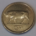 Ірландія 5 пенсів, 2000