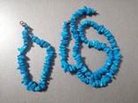 Бусы и браслет, фото №2