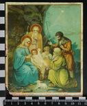 15.1. Хромолитография 1911 г. г. Одесса. Рождество Христово, фото №2