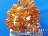 Бусы янтарные №7 вес 33 грамм Янтарь бурштин, фото №7