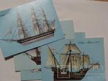 Листівки з кораблями експедиції Колумба, фото №4