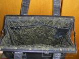 Сумка-саквояж кожаная миссионерская с кошельком Европа, фото №7