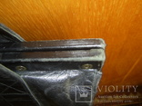 Сумка-саквояж кожаная миссионерская с кошельком Европа, фото №10