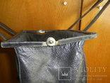 Сумка-саквояж кожаная миссионерская с кошельком Европа, фото №11