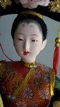Кукла Китай, ручная работа, фарфоровое лицо, фото №5