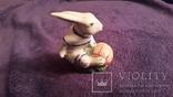 Фигурка зайца, клеймо Городница, фото №3