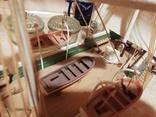 Деревянная модель парусного корабля, фото №3