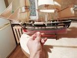Деревянная модель парусного корабля, фото №10