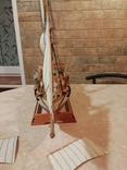 Модель деревянного парусного корабля, фото №5