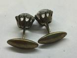 Запонки соребро 875, фото №7