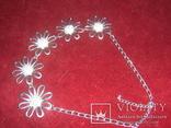 Ожерелье с цветами, фото №5